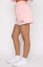 Essentials Club Lounge Shorts Pink