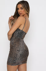 Desert Romance Mini Dress Leopard