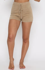 Staying In Shorts Mocha