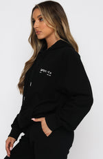 Unfinished Business Hoodie Black