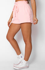 Hard To Handle Shorts Baby Pink