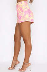 Sunshine On My Mind Shorts Summer Blossom