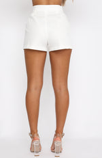 Sweet Escape Shorts White