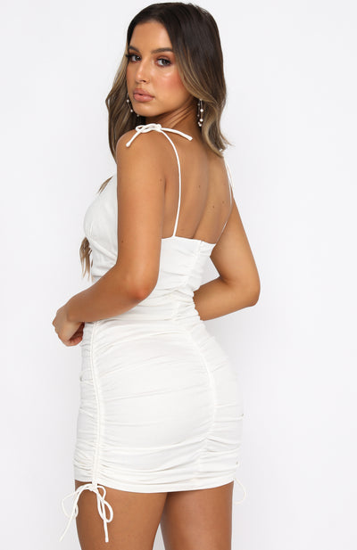 Summer Romance Mini Dress White