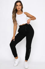 Worlds Apart Lounge Pants Black