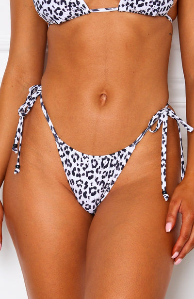 Barcelona Bottoms White Leopard