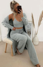 Keep It Cosy Long Cardigan Dove