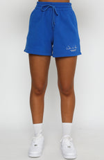 Check It Out Lounge Shorts Electric Blue