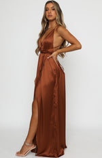 Endless Love Maxi Dress Rust