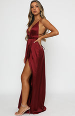 Endless Love Maxi Dress Merlot