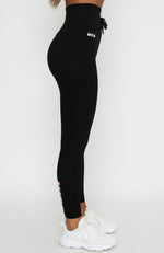 Dial It Up Leggings Black