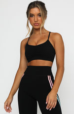 Go For It Sports Bra Black