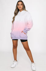 Just Another Dreamer Oversized Hoodie Berry Kiss