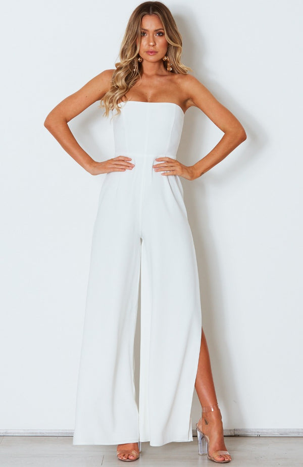 Dare To Be Jumpsuit White