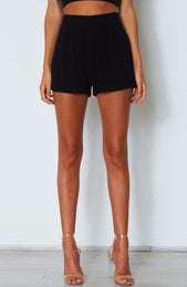 Be My Lover Shorts Black