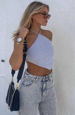 Koko Crop Powder Blue