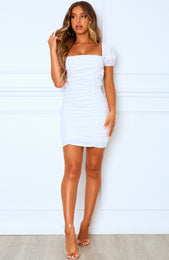 She's So Fine Mini Dress White