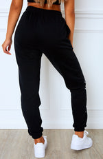 Tied Together Sweatpants Black