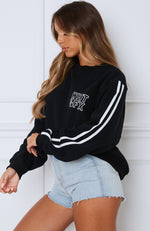 Trend Report Oversized Sweater Black