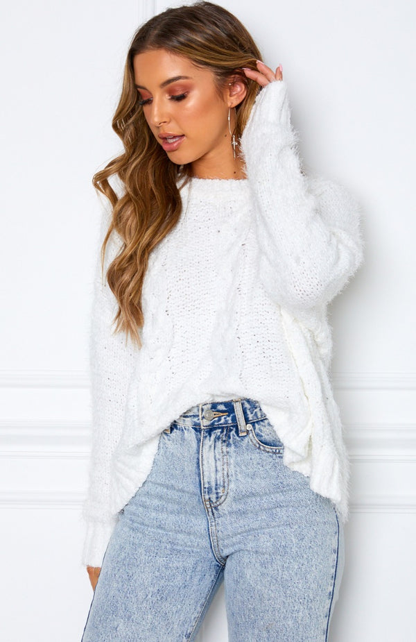 Mix It Up Knit White