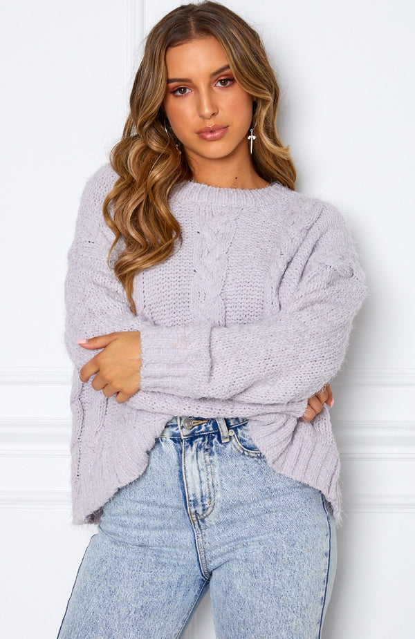 Mix It Up Knit Grey