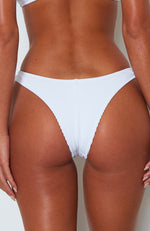 Del Marcos Bottoms White Rib