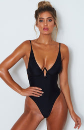 Playa Del Ray One Piece Black
