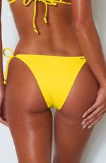 Calabasas Bottoms Yellow Rib