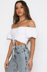 The New Way Crop White