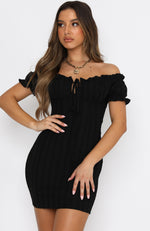 Force Of Nature Mini Dress Black