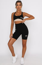 All Star Sports Bra Black