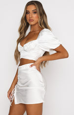All This Love Crop White