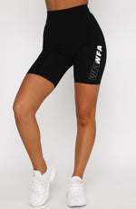 Power Up Bike Shorts Black