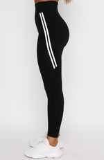 Wait Up Leggings Black