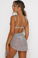 Island Breeze Sarong White Speckle