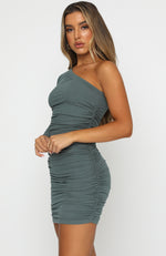 Summer Time Mini Dress Khaki