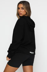Hit Refresh Hoodie Black