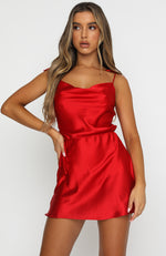 Modern Romance Mini Dress Red