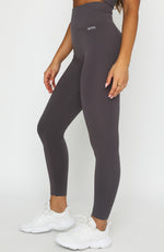 Seamless High Waisted Leggings Shadow
