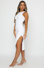 Meet Again Midi Dress White