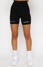 Real Games Bike Shorts Black