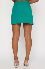 Sunset Views Mini Skirt Pine