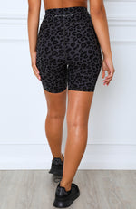 Safari Bike Shorts Charcoal