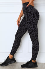 Concrete Jungle Leggings Charcoal