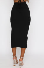 Start Over Skirt Black