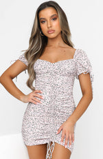 Tell Me About It Mini Dress Dusk Floral