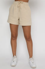 Along For The Ride Lounge Shorts Sand