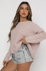 Burning Love Knit Blush
