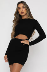 The Headlines Mini Dress Black