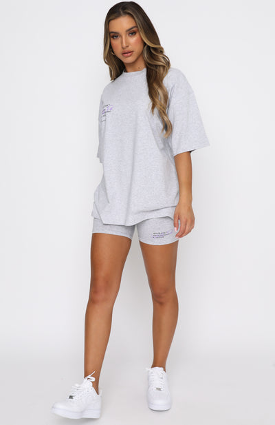Just Like That Tee Grey Marle